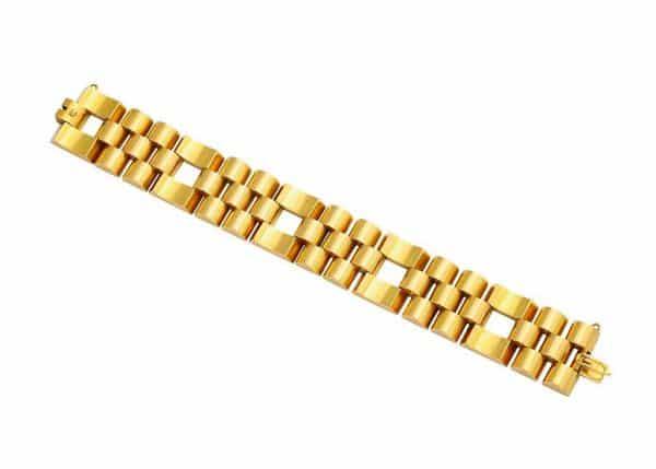 retro 18k gold bracelet