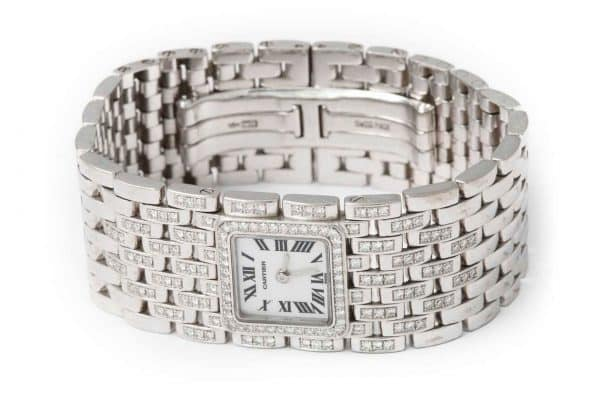 cartier diamond panthère watch