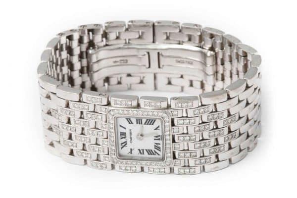 cartier diamond panthère watch