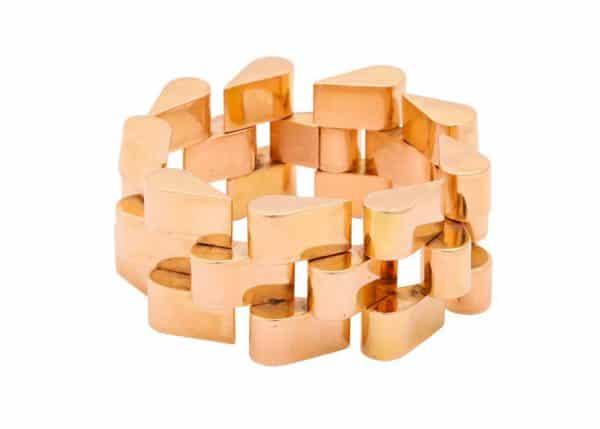 18k gold retro bracelet