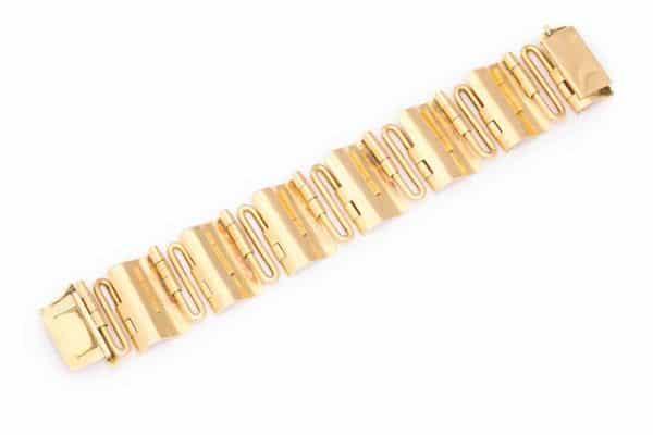 vintage 18k gold bracelet