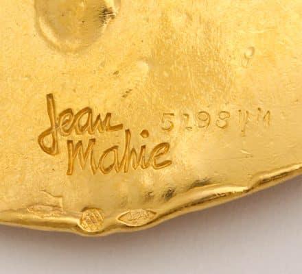 jean mahie 22k pisces pendant