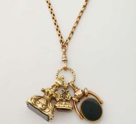 antique fob chain