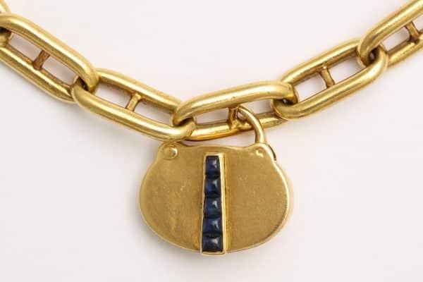 vintage cartier padlock bracelet