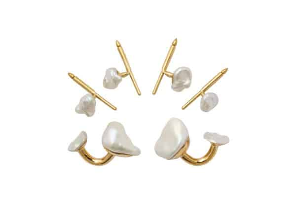 christopher walling pearl stud set