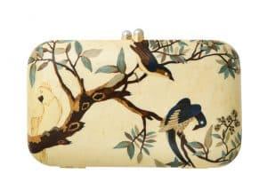 Sylvia Furmanovich marquetry clutch/handbag