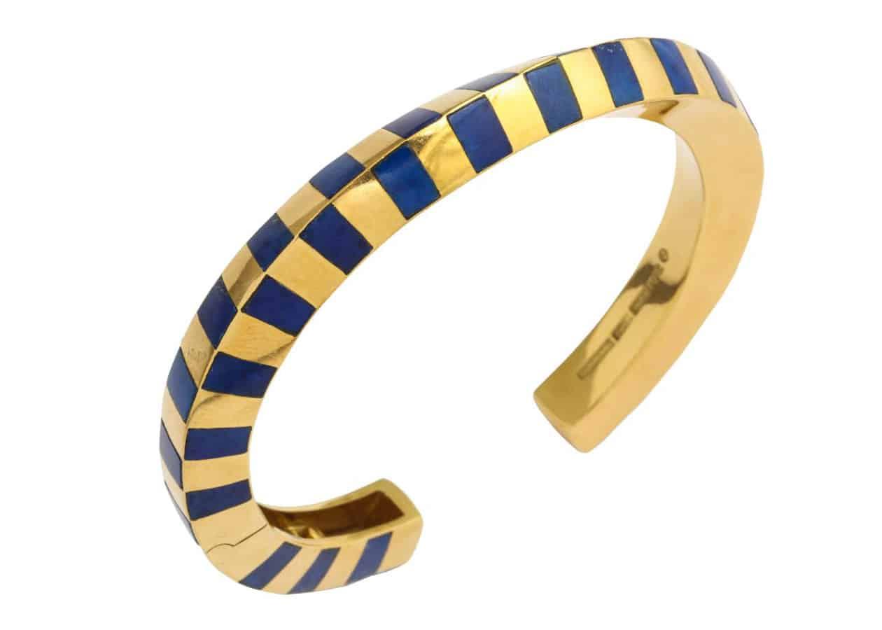 angela cummings lapis twist bracelet