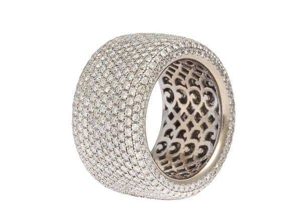 garrard diamond band ring