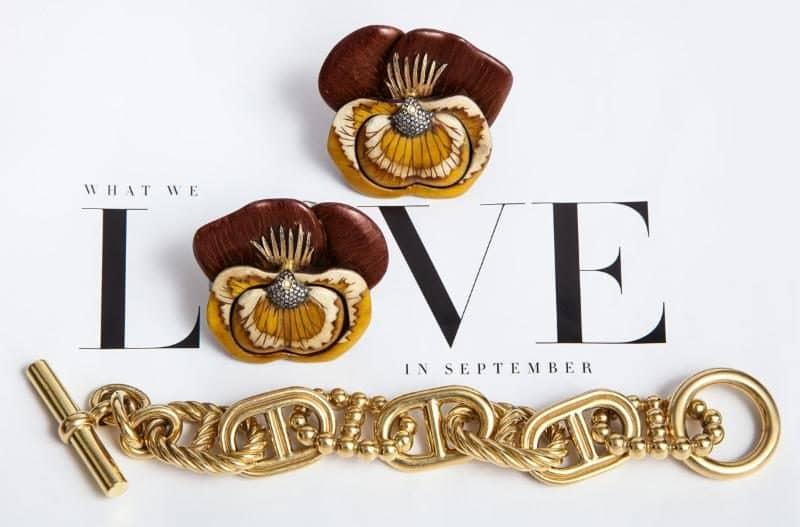 Silvia Furmanovich and Hermes jewelry