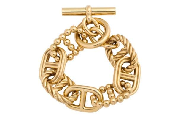 "hermes 18k limited edition ""parade"" bracelet"