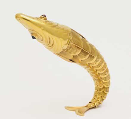 schlumberger vintage fish lighter