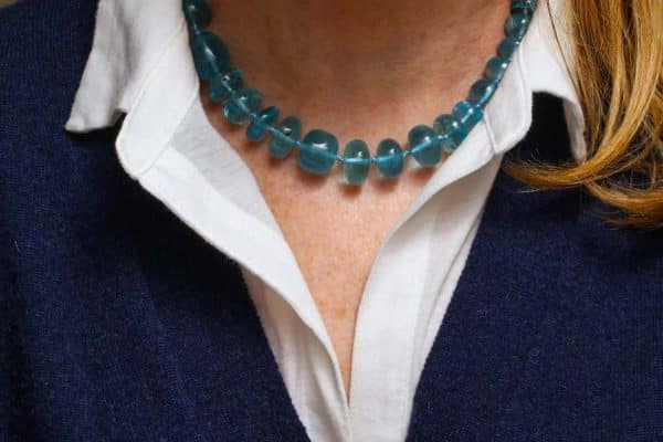 verdura blue topaz collar