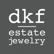 dkf estate jewelry logo
