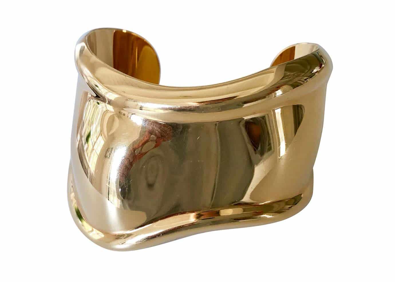 peretti gold bone cuff