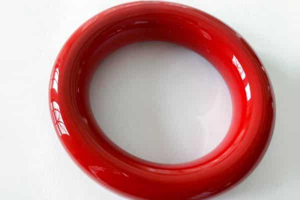 elsa peretti red lacquer cuff