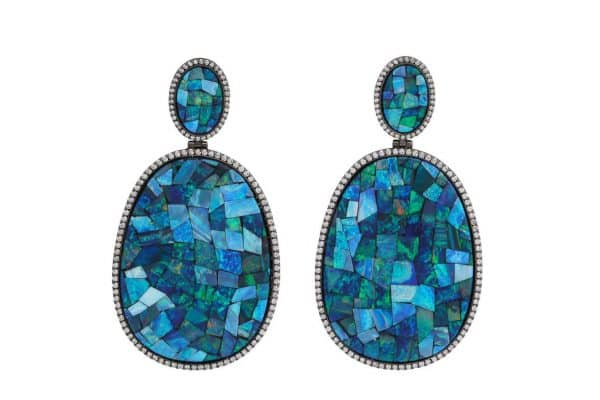 silvia furmanovich opal and diamond earrings
