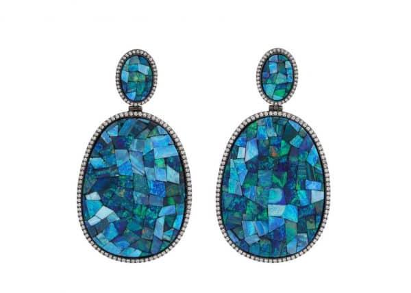 silvia furmanovich opal and diamond earrings
