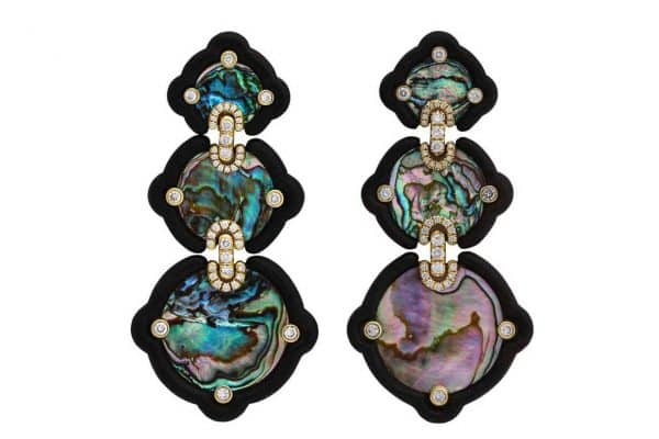 nicholas varney abalone earrings