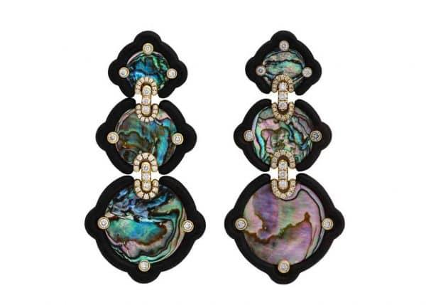 nicholas varney abalone earrings