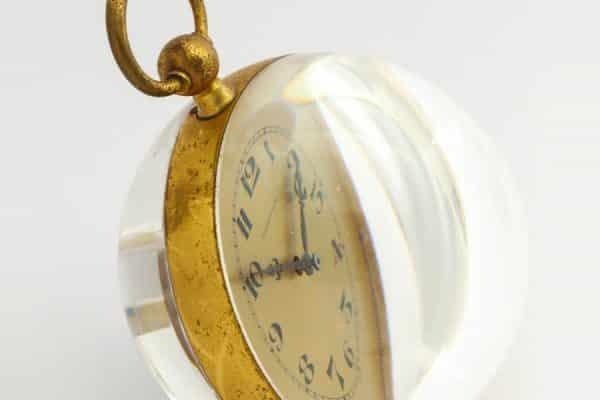 retro tiffany ball clock designed by van day truex in 1960