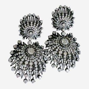silvia furmanovich diamond earrings