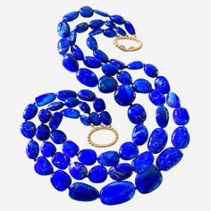 verdura lapis necklace
