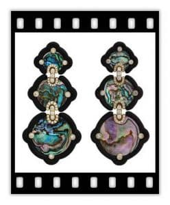nicholas varney abalone earring