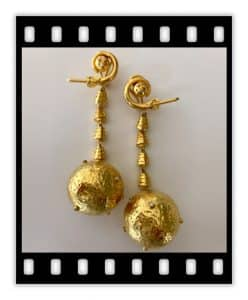 lalaounis 18k jackie-o lunar earrings