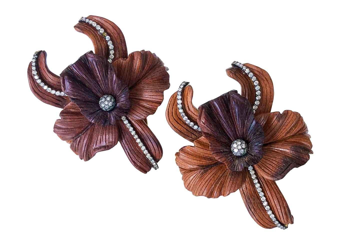 furmanovich marquetry earrings