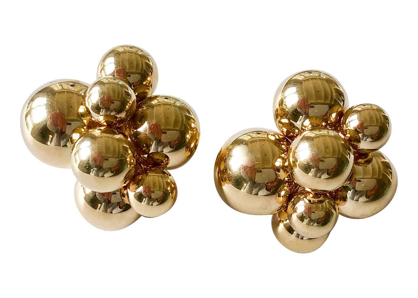marina b atomo earrings
