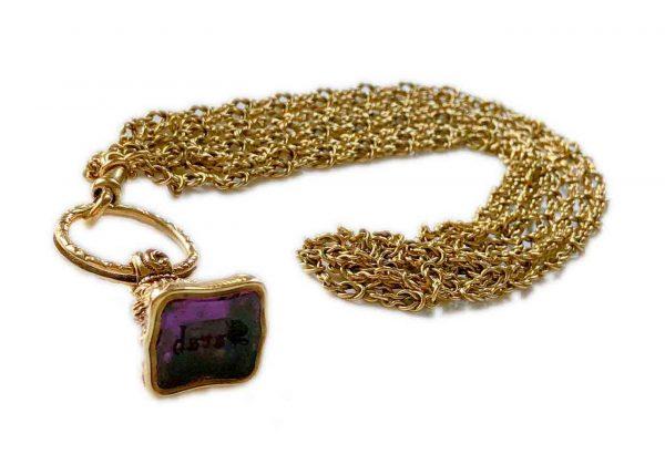 antique chain intaglio