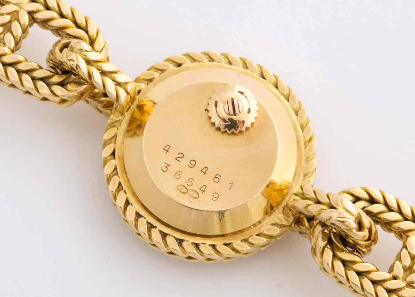 vintage hermes tresse chaine d'ancre watch