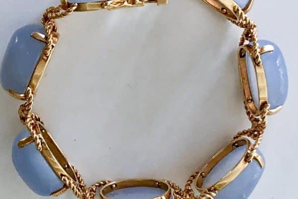 verdura chalcedony bracelet