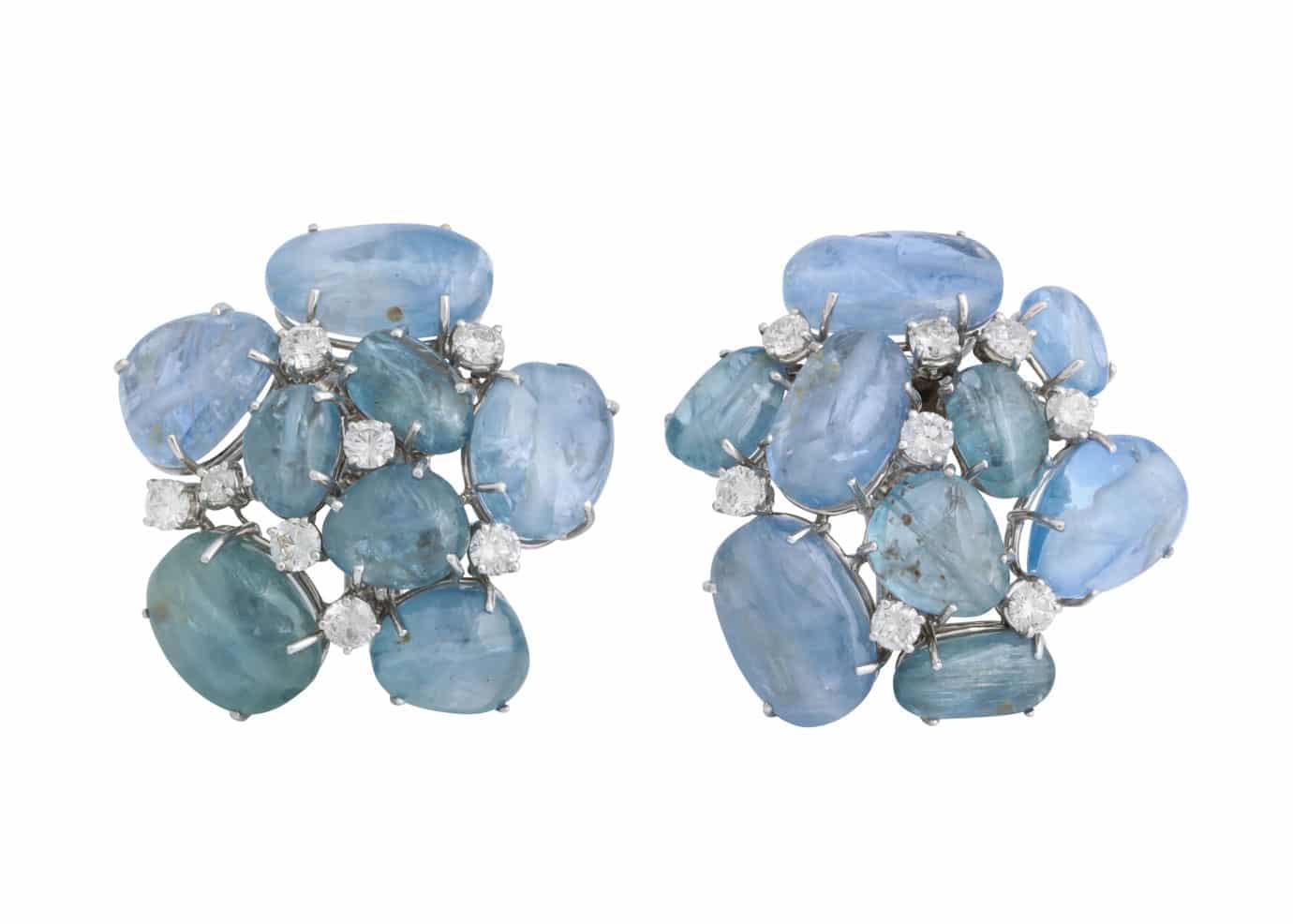 seaman schepps large sapphire earrings