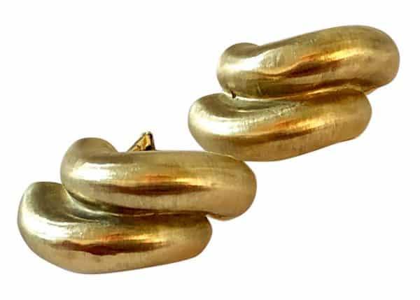 buccellati gold hoop earrings