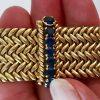 vintage woven van cleef bracelet