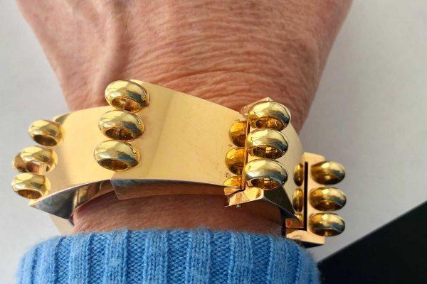vintage 18k bracelet
