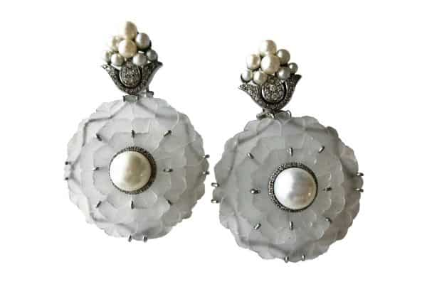 furmanovich snowflake earrings