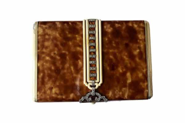 marcus diamond enamel box