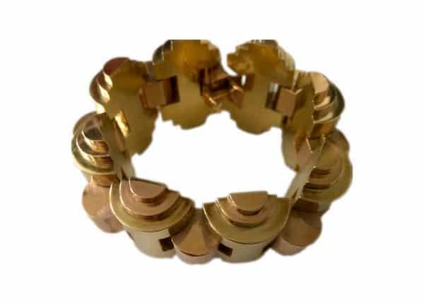 vintage dimensional bracelet