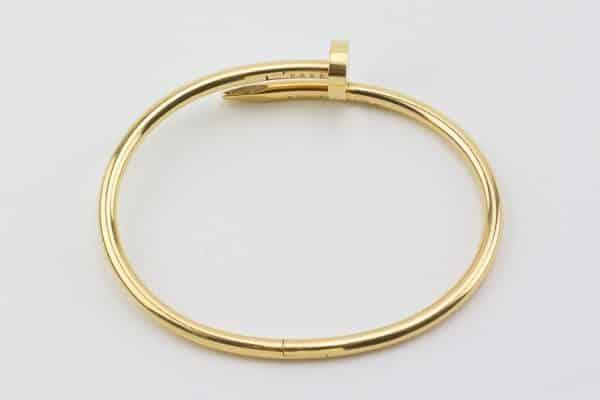 cartier gold juste un clou bracelet