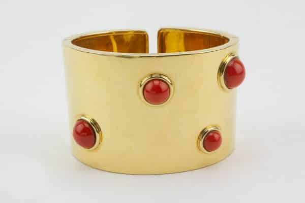 fred of paris coral cuff