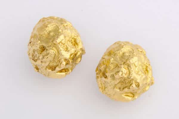 david webb nugget earrings