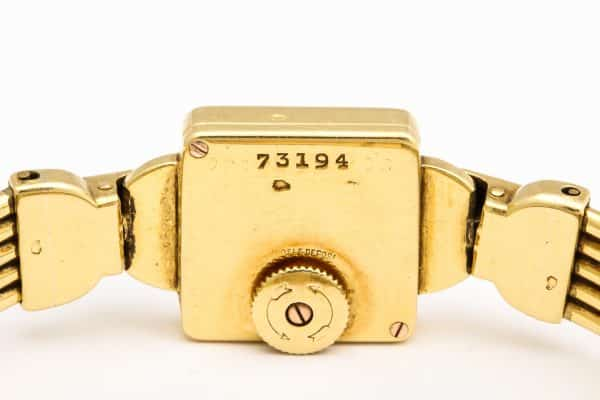 vintage cartier 18k watch