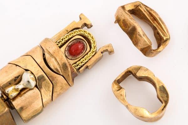 """berrocal """"mini-david"""" puzzle pendant"""