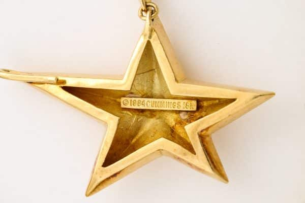 Angela Cummings star necklace